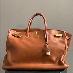Hermes Birkin Togo Gold Bag